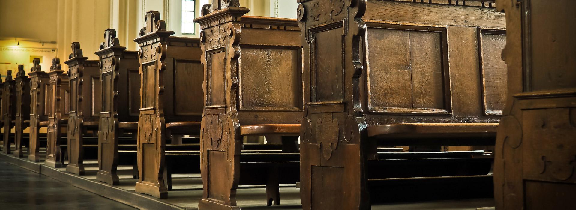 Placering i kyrkan vid begravning