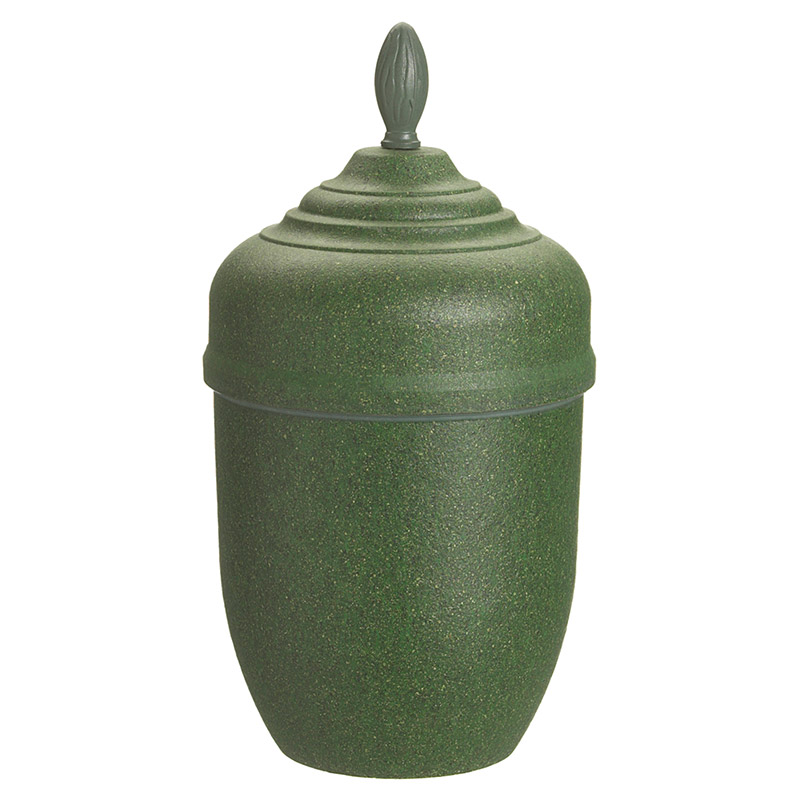 Urna Bark Grön
